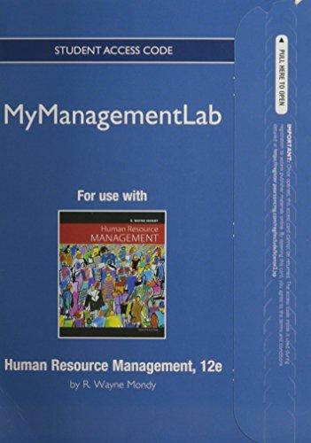 MyManagementLab -- Access Card -- for Human Resource Management