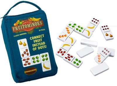 ''Fruitominoes'' - Fresh Fruity and Colorful Game of Dominoes by Board Games