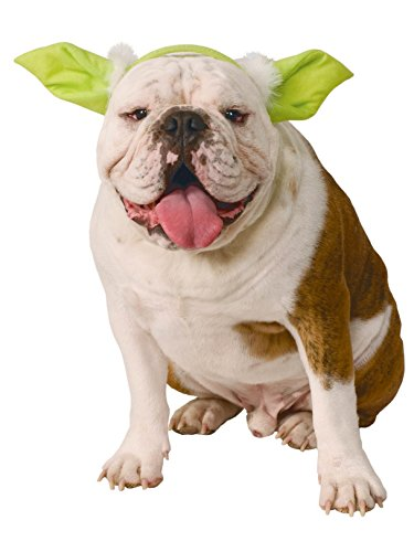 Star Wars Classic Yoda Dog Headpiece, Medium/Large]()