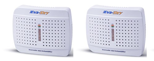 New and Improved Eva-dry E-333 Renewable oPDYrl, Mini Dehumidifier, 2 Give up the ghost