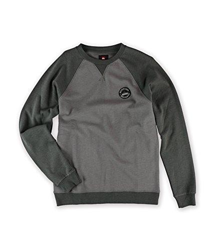 Quiksilver Pullover Sweatshirt - Quiksilver Mens Basalt Sweatshirt ktfh L