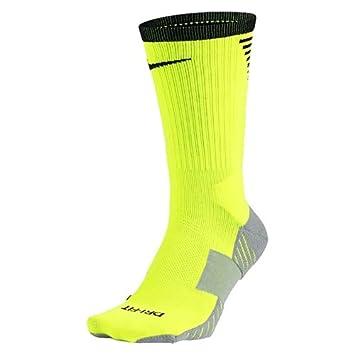Nike U Nk Squad Crew Calcetines, Hombre, Amarillo (Volt/Wolf Grey/Black), L: Amazon.es: Deportes y aire libre