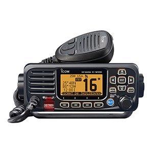 VHF, Basic, Compact, with GPS, Black by ICOM