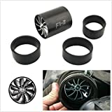 Black New Double Supercharger Turbine Turbo charger