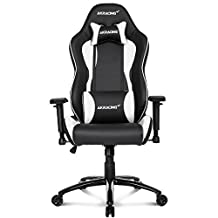 AKRacing Nitro Gaming Chair | Black and White | (YM702A)