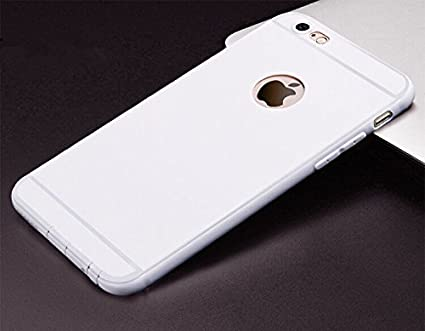 finest selection c87bc 738c0 DORRON iPhone 6Plus / iPhone 6SPlus White Anti Skid Candy Color Ultra Thin  Soft TPU Back Case Cover for Apple iPhone6 Plus / iPhone6S Plus - White ...