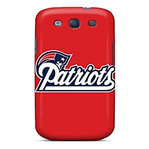 Premium New England Patriots Heavy-duty Protection Cases For Galaxy S3 Black Friday