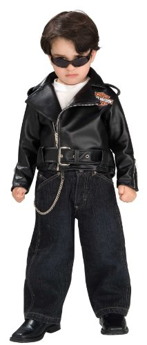 Rubie's Costume Harley Davidson Motorcycle Child's Jacket, Classic
