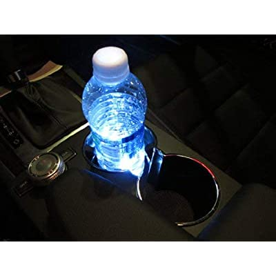 iJDMTOY 3-SMD LED Cup Holder, Glove Box, Ashtray Accent Lighting Strip Lights, Xenon White: Automotive