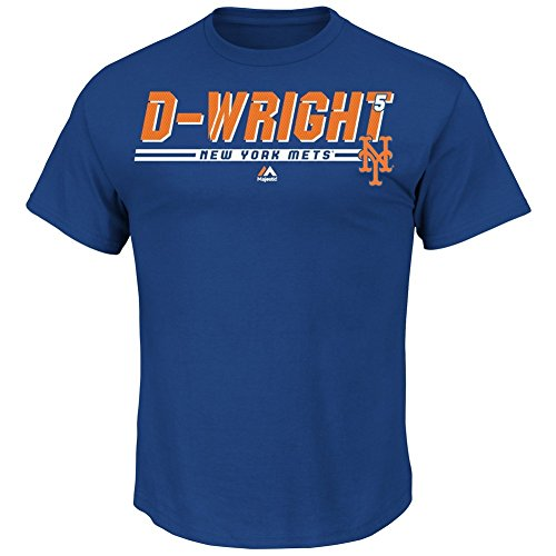 Men's David Wright New York Mets NY Jersey Tee Scoring Machine T-Shirt (XX-Large)
