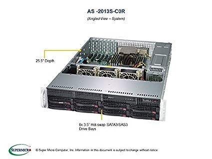 Amazon com: Supermicro AS-2013S-C0R 2U AMD EPYC 7000-Series