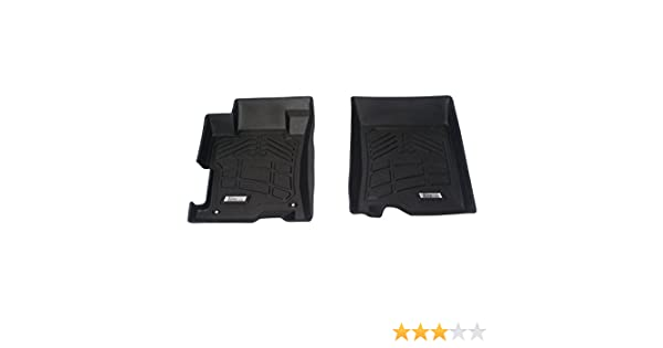 1 Pair Westin Wade 72-120018 Gray Sure-Fit Front Right And Left Molded Floor Mat Set