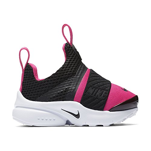 Nike Girls' Nike Presto Extreme (TD) Toddler Shoe Black/Black-Pink Prime-White 6C