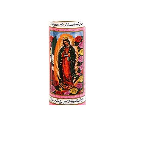 Catholic Prayer Candles with Glass Jar Holders - 8