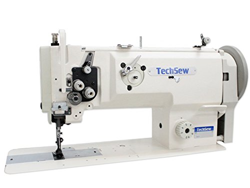 TechSew 1660 Leather Walking Foot Industrial Sewing Machine with Assembled Table & Servo Motor by TechSew