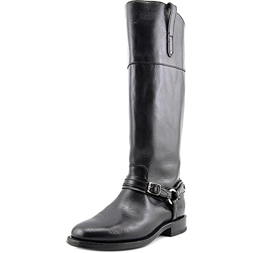 Frye Womens Abbey Plate Tall Boot Black Size (Abbey Plate)