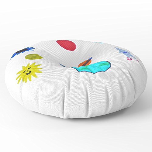 Society6 MY SPACE Floor Pillow Round 30'' x 30'' by Society6 (Image #1)