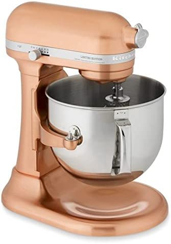 KitchenAid KSM7588PCP Proline Edition Stand Mixer, Copper Pearl, 7 Qt
