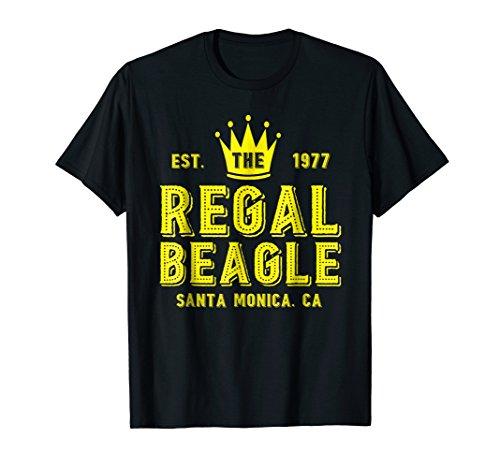 The Regal Beagle T-Shirt Funny Beagle by VL Fun Design