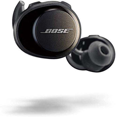 Bose SoundSport Free Auriculares intraurales inalámbricos, Bluetooth, Negro (Triple Black)