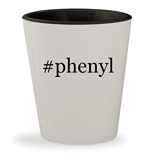 #phenyl - Hashtag White Outer & Black Inner Ceramic 1.5oz Shot (Phenyl Core)