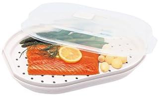 Progressive International Microwavable Fish & Veggie Steamer (B0000CFMP9) | Amazon price tracker / tracking, Amazon price history charts, Amazon price watches, Amazon price drop alerts