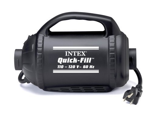 Electric Pump Inflation 120vac Fill (Intex 110-120 Volt A/C Quick Fill Electric Pump)