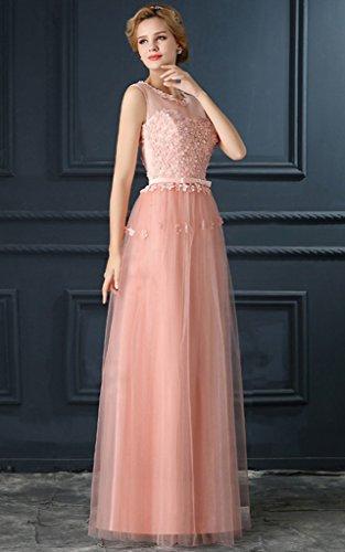 Vimans Linea Vestito A Pink Ad Donna SpqzSxrw