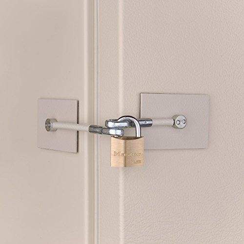 Ivory Refrigerator Door Lock White