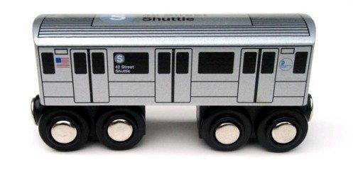 Munipals Wooden MTA New York City NYC Subway Car S