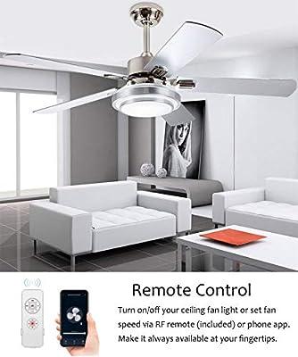 Controlador inteligente WiFi para ventilador de techo con luz ...