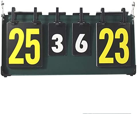 4-Digit Scoreboard Sports Competition For Table Tennis Basketball High Quality
