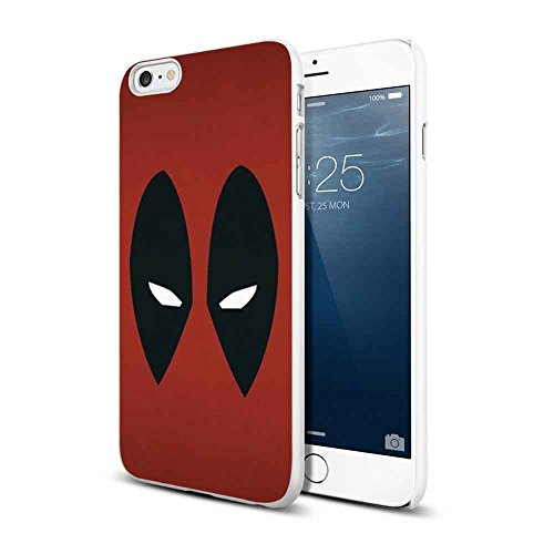 deadpool mask walpaper For iPhone 6/6s White (Deadpool Walpaper)