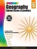 Carson-Dellosa Spectrum Geography Workbook: United States of America, Grade 5