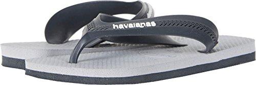 Havaianas Kids Max Sandal, New Graphite/Ice Grey 31/32 BR/Little Kid (2 M US)