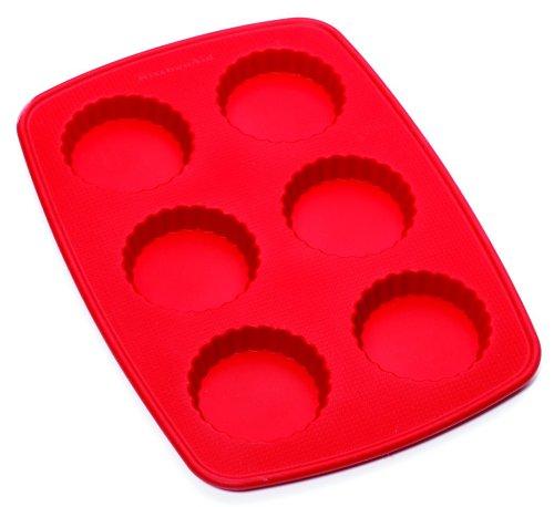 Kitchenaid Silicone Mini Tartlet, Red