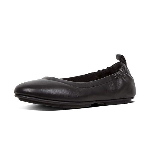 c1e0a59e6 Fitflop Women s Allegro Closed Toe Ballet Flats  Amazon.co.uk  Shoes ...