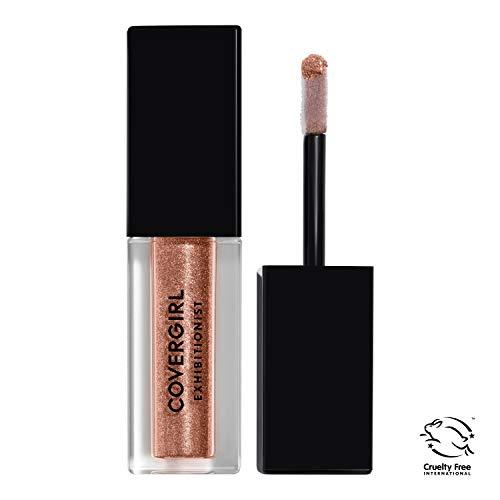 Covergirl Exhibitionist Liquid Glitter Eyeshadow, At First Blush