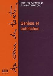 Genèse et autofiction
