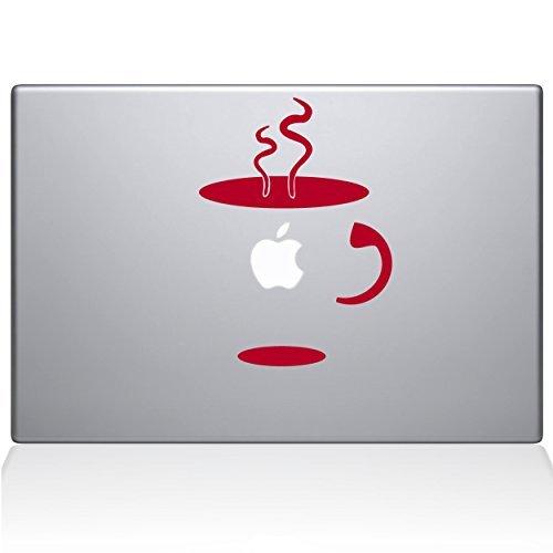 【史上最も激安】 The Decal Guru Of 0059-MAC-11A-DR Cup B0788H1X8P Of Coffee Sticker Vinyl Sticker 11 Macbook Air Red [並行輸入品] B0788H1X8P, ヒガシクルメシ:0c01ed8d --- a0267596.xsph.ru