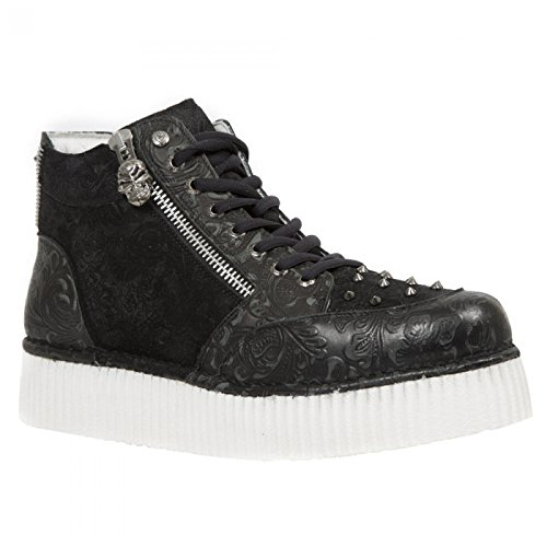 New Rock Boots M.crp002-r2 Punk Rampicante Unisex Sneeker Schwarz