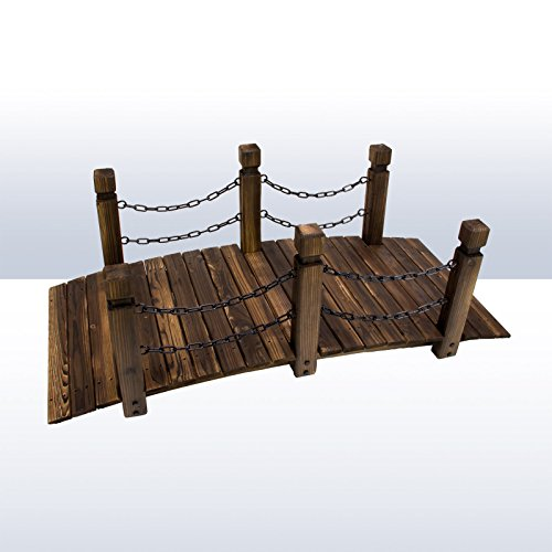 DEMA Gartenbrücke Rustika 148 cm