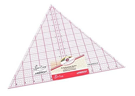 Amazon.com: Quilting Ruler 60 Degree Triangle 12 X 13-7/8 Inch by ... : 60 degree ruler quilting - Adamdwight.com