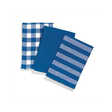 Blue/White Kitchen Towels - Style 36500