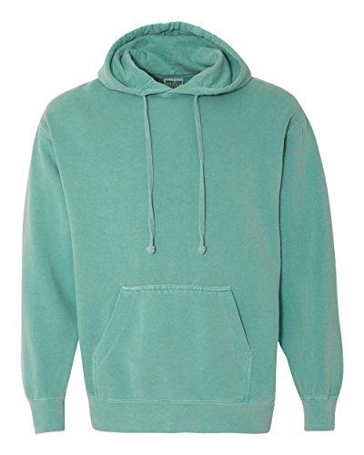 Comfort Colors Mens 9.5 oz. Garment-Dyed Pullover Hood(1567)-SEAFOAM-3XL