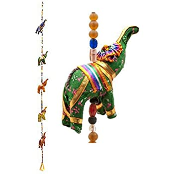 Indian Traditional Five Elephant Hanging Layer Door Hanging  Wall Hanging  Decorative Hanging GIFT BOX  sc 1 st  Amazon.com & Amazon.com: Indian Traditional Five Elephant Hanging Layer Door ...