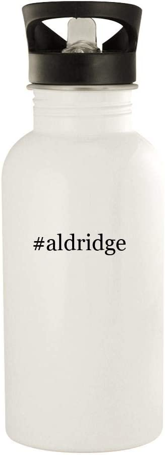 #aldridge - 20oz Hashtag Stainless Steel Water Bottle, White 41PMA0u82bL