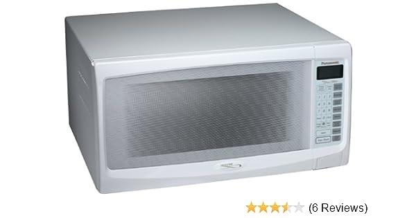 Amazon.com: Panasonic NN-S762WF 1.6 Cu. Ft., 1300-Watt Microwave, White: Countertop Microwave Ovens: Kitchen & Dining