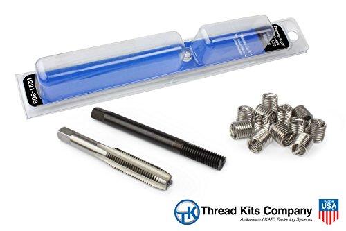 Perma-Coil 1221-308 Metric Thread Repair Kit M8X1.25 12PC Helicoil 5403-7