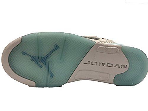 Jordan Nike Ungdom Luft Søn Af Mars Piger Basketball Sko Grå JC0CU